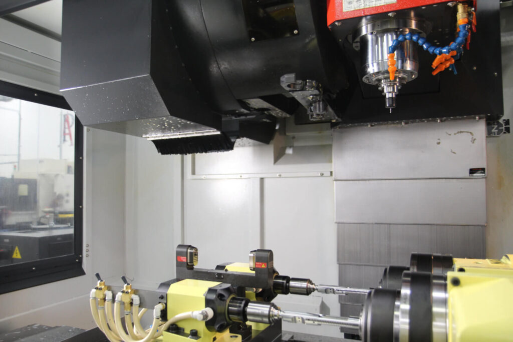 Milling Machine at Asteroid Precision