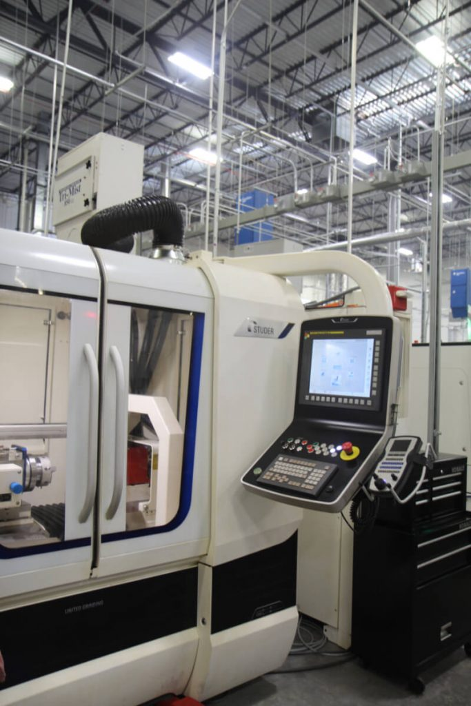 Studer Grinding Machine at Asteroid Precision