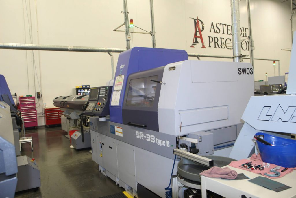 Production Floor at Asteroid Precision